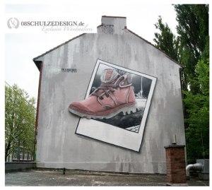 Fassadenmalerei.Illusionsmalerei