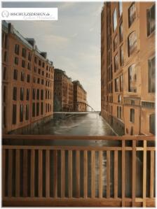 Illusionsmalerei.Wandmalerei.Hamburg
