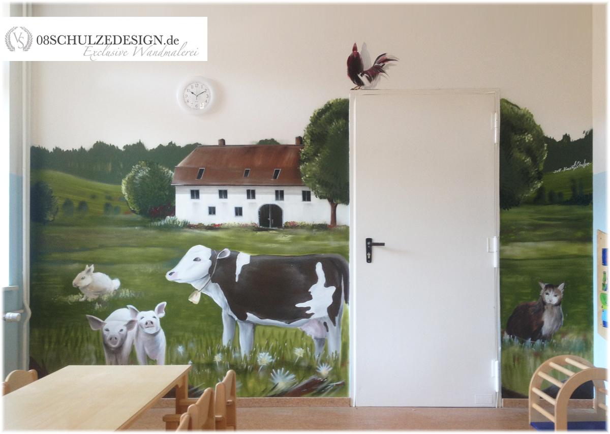 Wandmalerei hamburg wandmalerei for Wandmalerei kinderzimmer