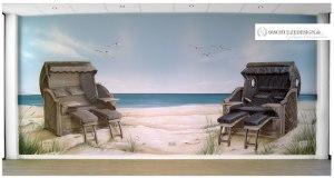 Wandmalerei.Sylt.Nordsee.Oststee