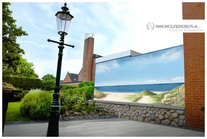 Wandmalerei.Nordsee.Wandbild.Ostsee.Wandmalerei.Hamburg